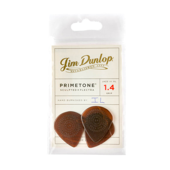 Dunlop Primetone Jazz III XL Picks 1.4mm grip 3-Pack