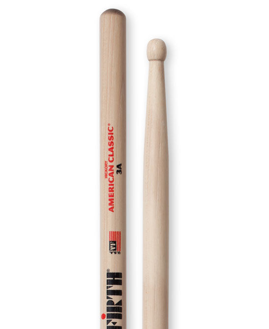 Vic Firth 3A - Wood Tip Drum Sticks