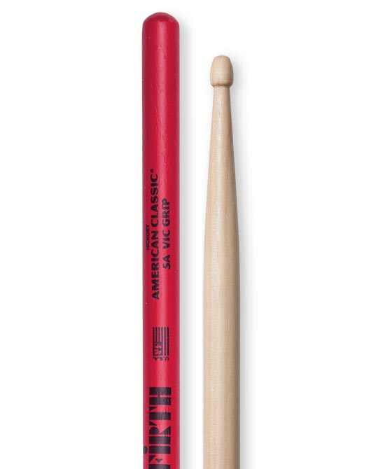 Vic Firth 5AVG Vic Grip - Wood Tip Drum Sticks