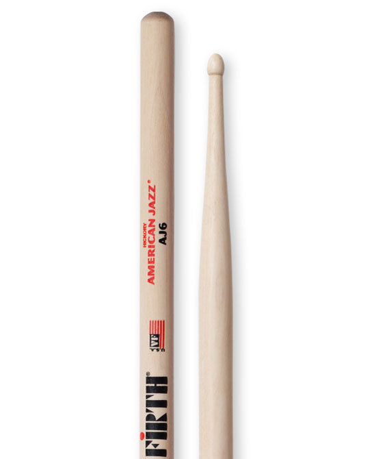 Vic Firth AJ6 - Wood Tip Drum Sticks