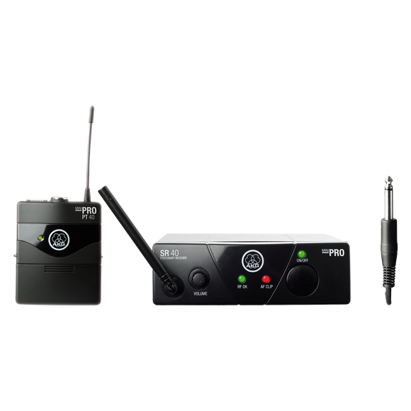 AKG WMS40 Mini Instrumental Set - Wireless System