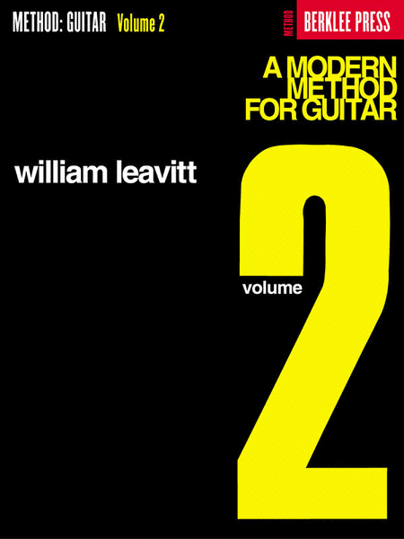 A Modern Method for Guitar 2 by William Leavitt