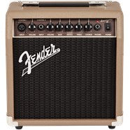 Fender Acoustasonic 15 2-Channel (Mic & Instrument) Acoustic Amplifier