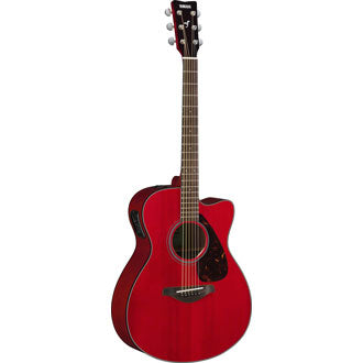 Yamaha FSX800C Ruby Red