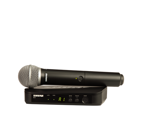 Shure BLX24/PG58-J10 Handheld Wireless System