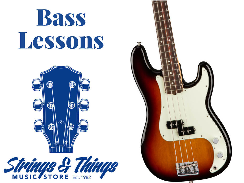 Bass Lessons – Strings and Things Music Store