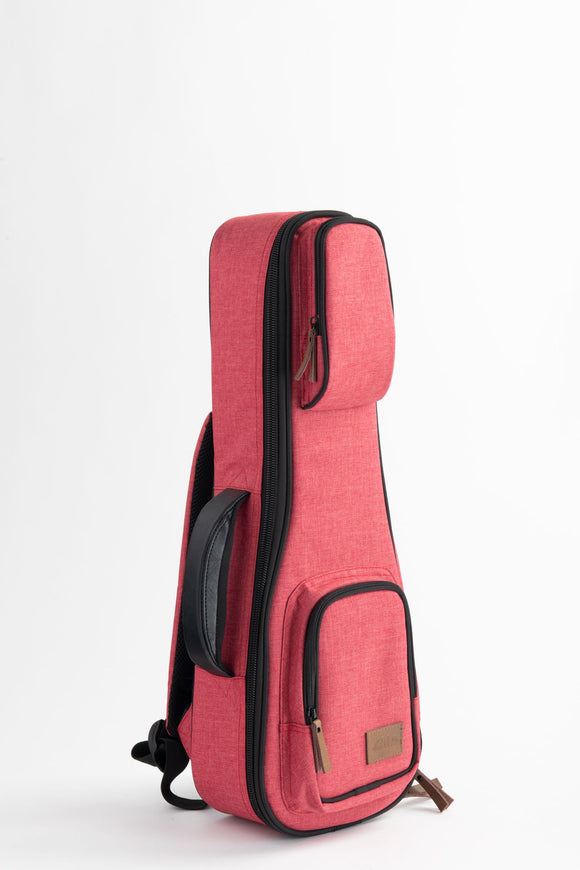 Kala Sonoma Coast Tenor Ukulele Case - Red