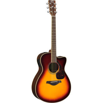 Yamaha FSX830C Brown Sunburst