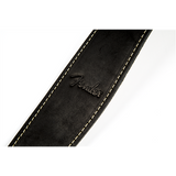 Fender Ball Glove Leather Strap Black Logo