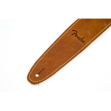 Fender Ball Glove Leather Strap Brown End