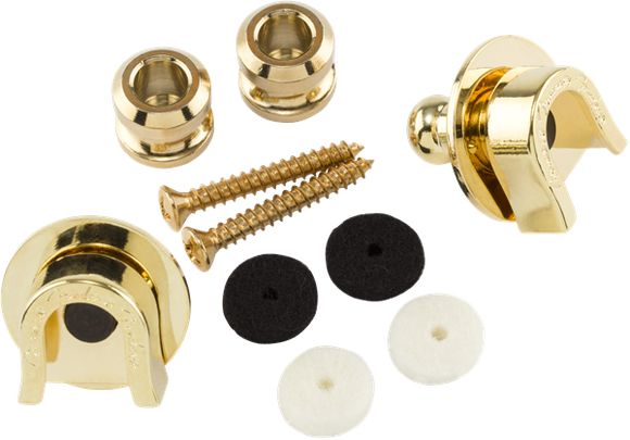 Fender Elite Strap Locks Gold