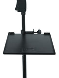 "Gator 9"" x 9"" Mic Stand Accessory Shelf"