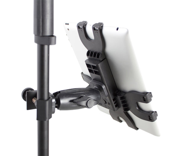 Gator Frameworks iPad Tablet Tray with Adjustable Clamp Mount
