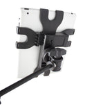 Gator Frameworks iPad Tablet Tray with Microphone Stand Mount