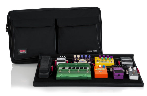 Gator Wood Pedal Board w/ Carry Bag - Pro Size
