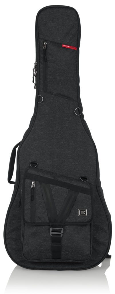 Gator Cases Transit Series Acoustic Guitar Bag - Black