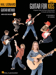 Guitar For Kids Book 1 by Bob Morris & Jeff Schroedl