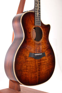 Taylor K24ce Koa V-Class Grand Auditorium Acoustic/Electric Guitar