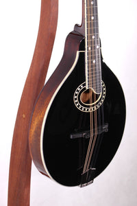 Eastman MD404-BK Black A-Style Mandolin w/ Oval Hole
