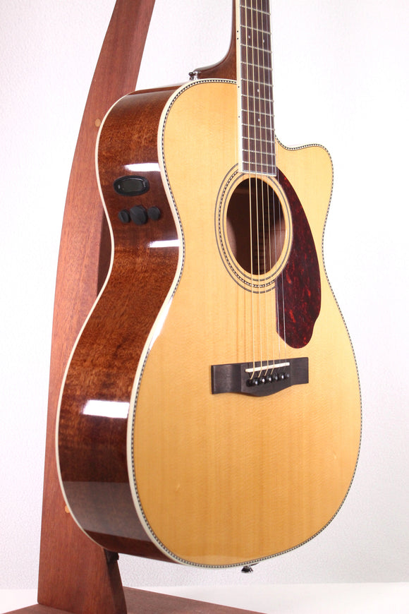 Fender PM-3 Standard Triple-O Natural Acoustic/Electric Guitar