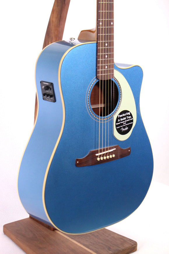 Fender Sonoran SCE Dreadnought Acoustic/Electric Guitar - Lake Placid Blue
