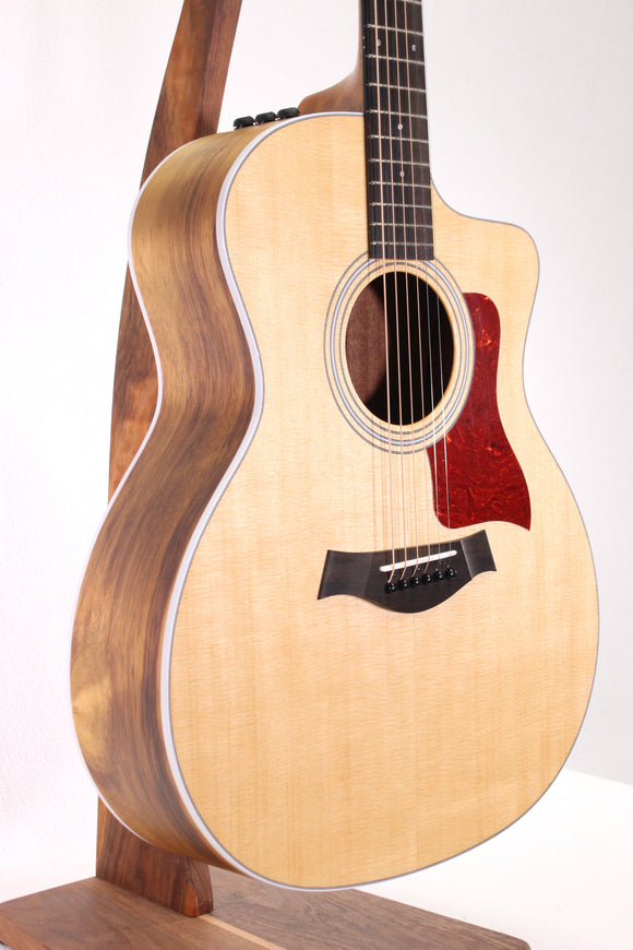 Taylor 214ce Grand Auditorium Acoustic/Electric Guitar w/ Cutaway & EQ