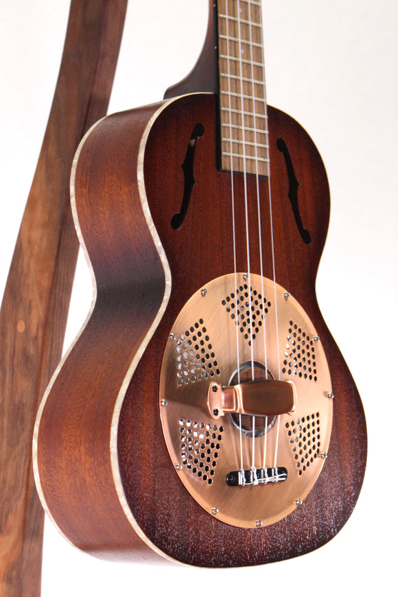 Kala KA-RES-BRS Resonator Brass Tenor Ukulele