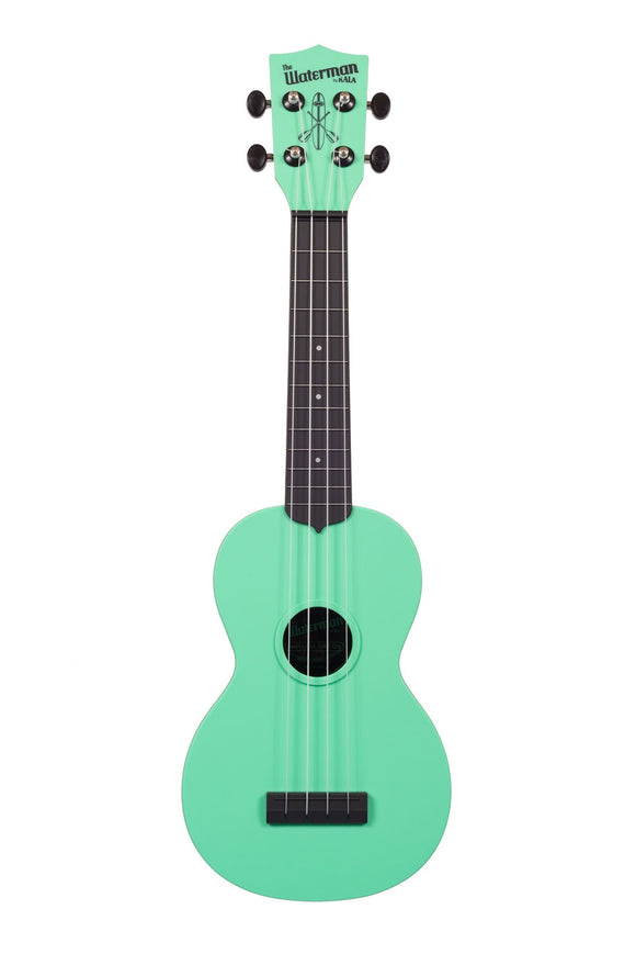 Kala KA-SWB-GN Sea Foam Green Matte Soprano Waterman Ukulele