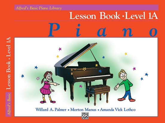 Alfred's Basic Piano Course Lesson Book - Level 1A