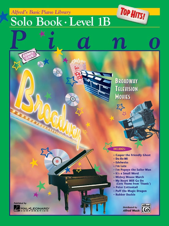Alfred's Basic Piano Course Solo Book - Level 1B