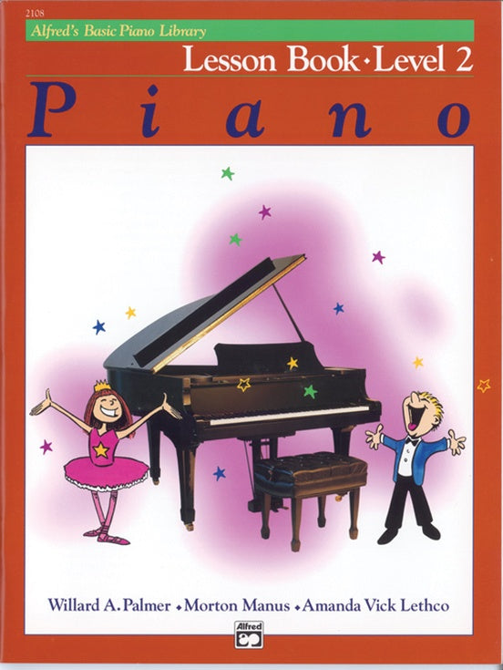 Alfred's Basic Piano Course Lesson Book - Level 2