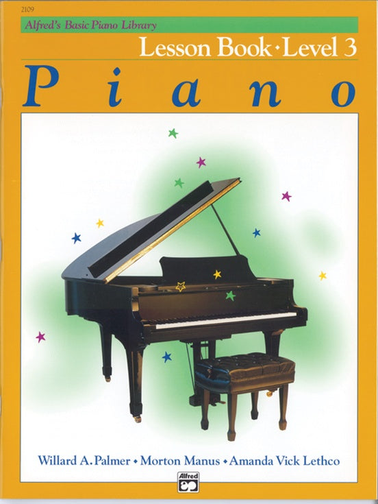 Alfred's Basic Piano Course Lesson Book - Level 3