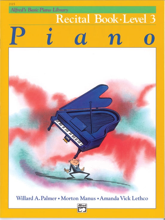 Alfred's Basic Piano Course Recital Book - Level 3