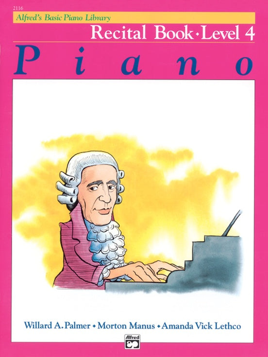 Alfred's Basic Piano Course Recital Book - Level 4