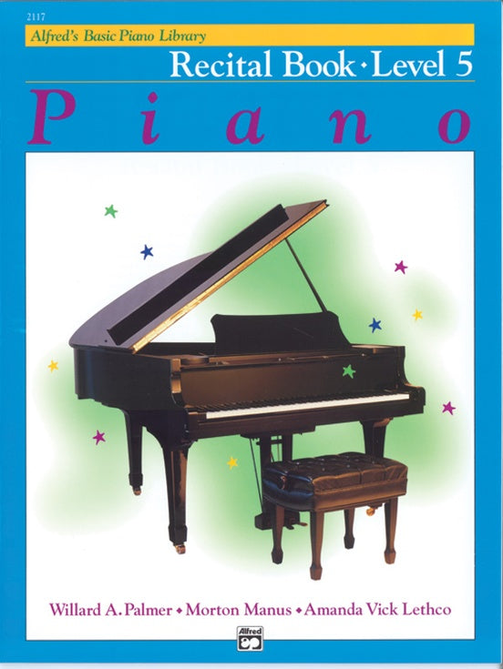 Alfred's Basic Piano Course Recital Book - Level 5