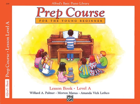 Alfred's Basic Piano Prep Course Lesson Book - Level A