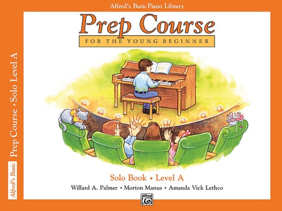 Alfred's Basic Piano Prep Course Solo Book - Level A