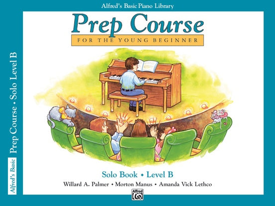 Alfred's Basic Piano Prep Course Solo Book - Level B