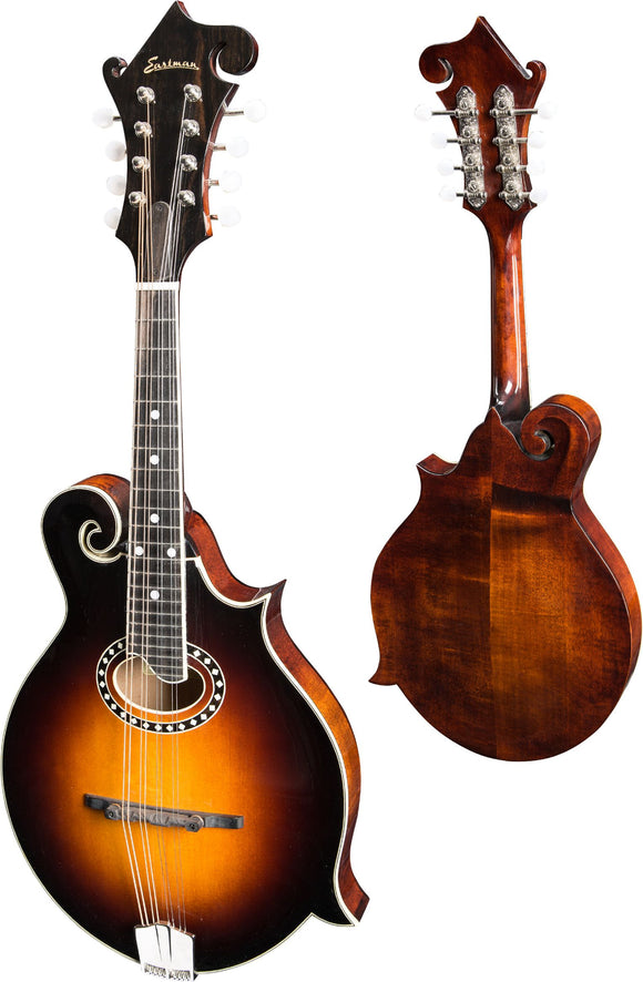 Eastman MD514-CS F-Style Mandolin w/ Oval Hole - Classic Sunburst