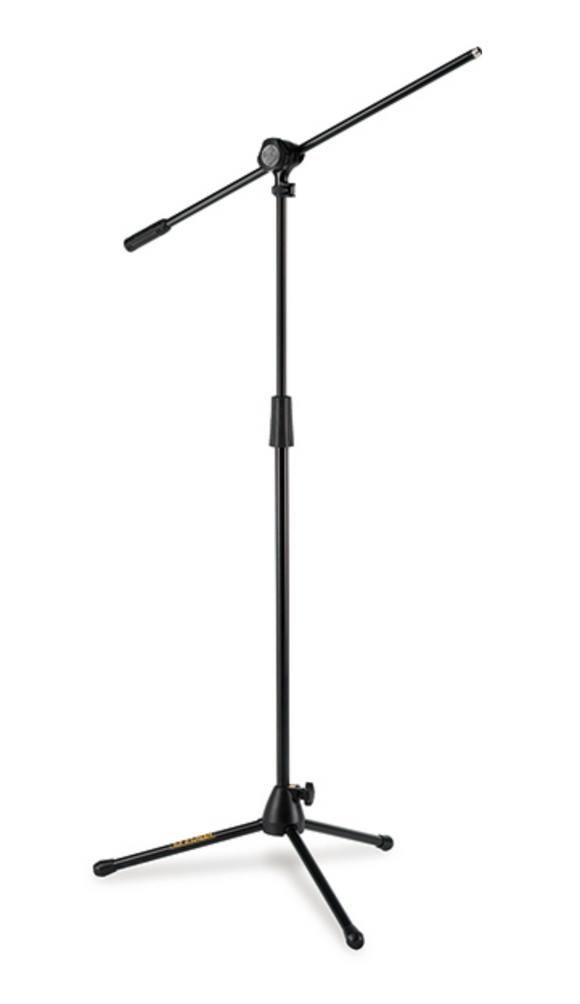 Hercules Quick Turn Tripod Microphone Stand W/2 in 1 Boom