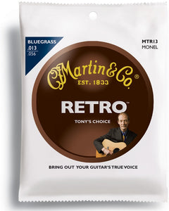 Martin MTR13 Retro Monel Bluegrass .013