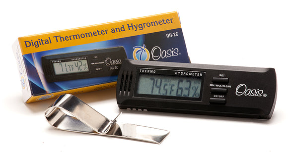 Oasis OH-2C Digital Hygrometer with Calibration