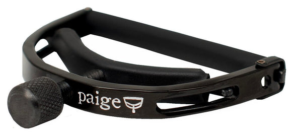 Paige Original 6-String Acoustic Guitar Capo - Black