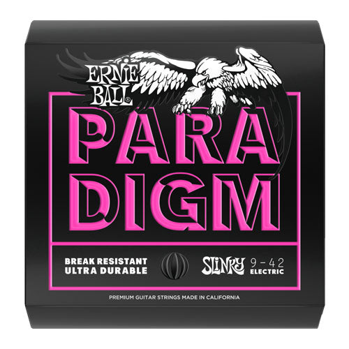 Ernie Ball Paradigm Super Slinky Electric Guitar Strings 9-42 2023