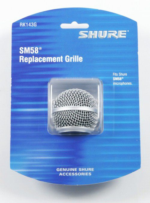 Shure SM58 Replacement Grille