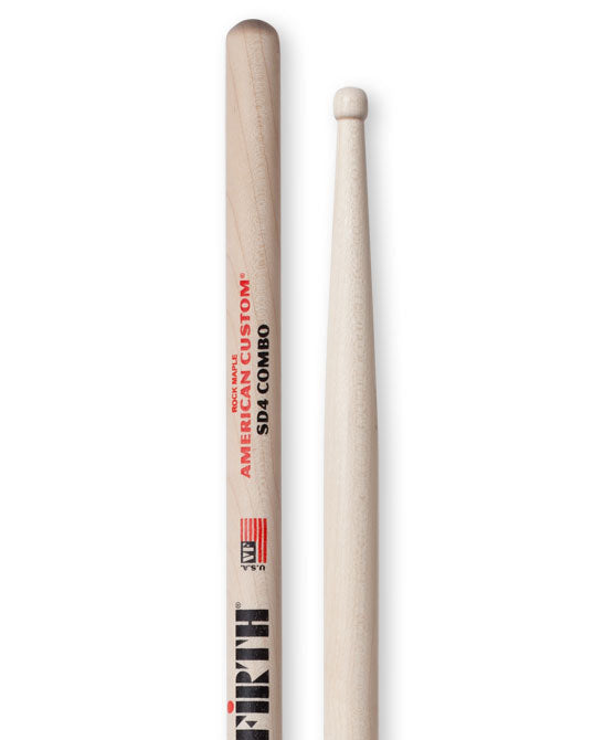 Vic Firth SD4 Combo - Wood Tip Drum Sticks