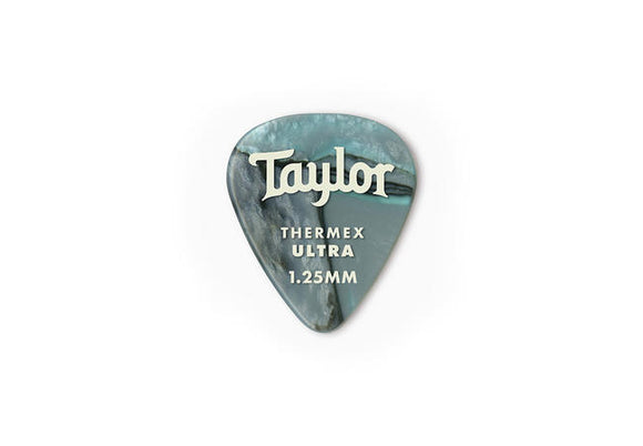 Taylor Premium 351 Thermex Ultra Picks Abalone 1.25mm 6-Pack