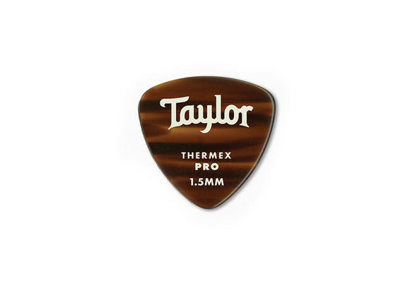 Taylor Premium 346 Thermex Pro Picks Tortoise Shell 1.5mm 6-Pack
