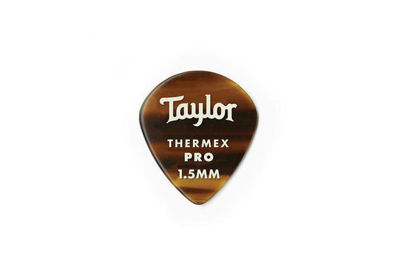 Taylor Premium 651 Thermex Pro Picks Tortoise Shell 1.50mm 6-Pack