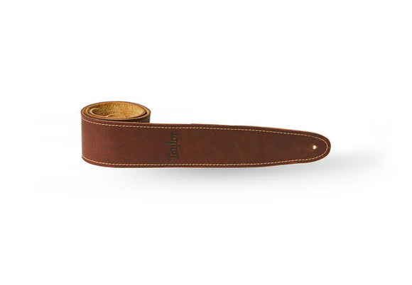 Taylor Leather Guitar Strap, Suede Back, 2.5